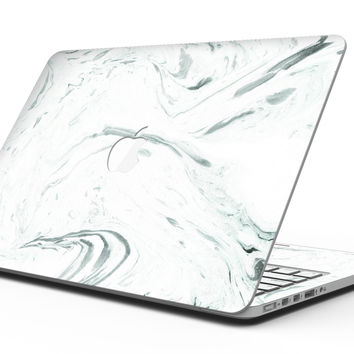 Mint 19 Textured Marble - MacBook Pro with Retina Display Full-Coverage Skin Kit