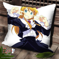 New Oreimo Anime Dakimakura Square Pillow Cover SPC221