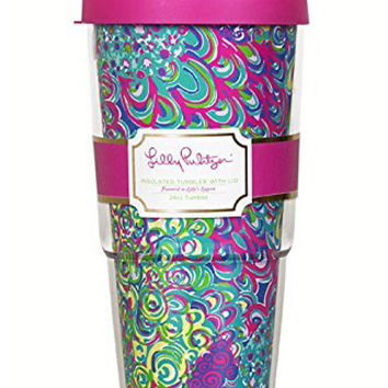 Lilly Pulitzer 24oz Insulated Tumbler