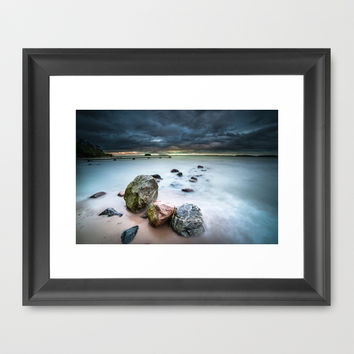 Dead on arrival Framed Art Print by HappyMelvin