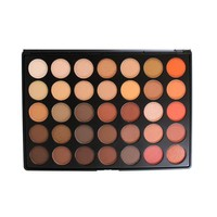 Morphe 35O Colour Nature Glow Eyeshadow Palette