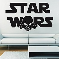 Wall Decals Star Wars Darth Vader Decal Vinyl Sticker Home Decor Bedroom Dorm Gym Nursery Art Murals Ms715