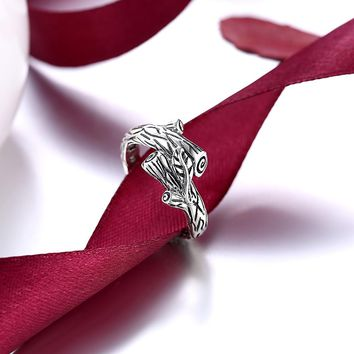 Unique sterling silver .925 Branch Nature Ring