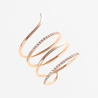 Women's kismet by milka 'Lumiere' Diamond Coil Ring
