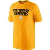 Pittsburgh Steelers Nike Foundation Gold T-Shirt - Official Online Store