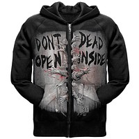 Walking Dead - Dead Inside Zip Hoodie