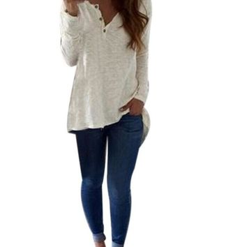 Long Sleeve Casual T Shirt