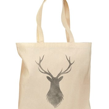 Majestic Stag Distressed Grocery Tote Bag