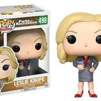 """Funko Pop Leslie Knope 3.75"""" Vinyl Figure Parks and Recreation IN STOCK"""