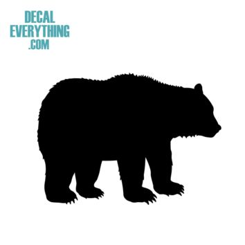 Bear Decal - Animal Decals - C2311