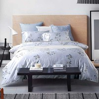 Single Flower Print Comforter Sets | EBeddingSets