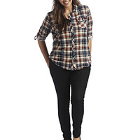 Blue Asphalt Pull On Jegging | Wet Seal+