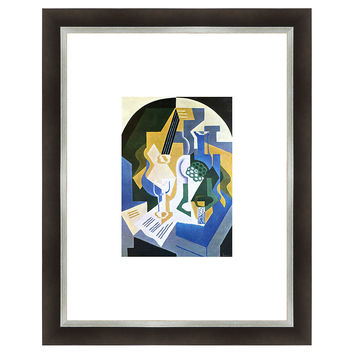 Juan Gris, Fruit and Mandolin, Original Vintage Prints