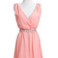 Pink Pastel Ladies Cocktail Dress