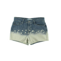 Levi's Womens Juniors Cotton Acid Wash Denim Shorts