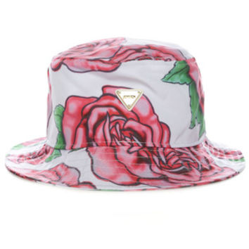 BRUSH ROSE HAT / RED - JOYRICH Store