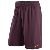 Nike Minnesota Golden Gophers Fly Practice Dri-FIT Performance Shorts