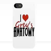 Grey's Anatomy: I s Anatomy - Iphone Case  by sullat04