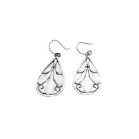 Love Letters Sterling Silver Teardrop Earring