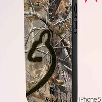 Love Browning Deer Camo Real Tree Couple Right Caseperson iPhone 5 Case