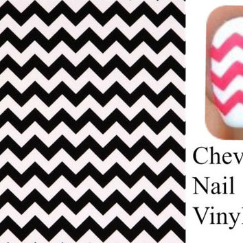 Vinyl Nail Decal, small medium large, chevron Nail Decals , Chevron Nail Decal ,Chevron Nail Sticker, , Vinyl Nail Decals