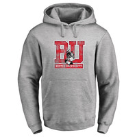 Boston University Classic Primary Logo Pullover Hoodie - Ash