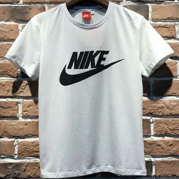 Nike 2018 Logo Summer New Sports Speed Couples Short Sleeve T-Shirt F-Great Me Store