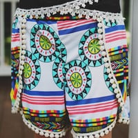 Western Sunset Shorts