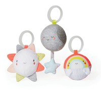 Skip Hop | Silver Lining Cloud Ball Trio Baby Toy