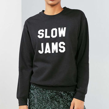 Sub Urban Riot Slow Jams Pullover Sweatshirt - Urban Outfitters