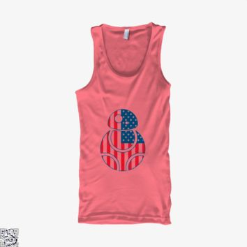 Bb Merica, Independence Day Tank Top