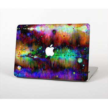The Neon Paint Mixtured Surface Skin Set for the Apple MacBook Air 11""