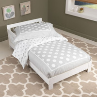 Houston Toddler Bed - White