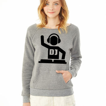 DJ 1 ladies sweatshirt