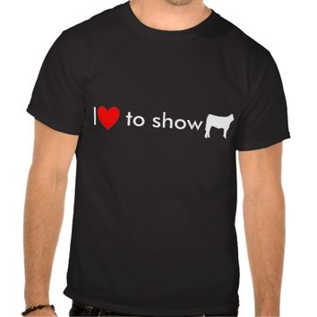 steer cow white, Heart, I, to show