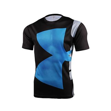 2016 Sale Marvel Super Hero Avenger Batman T Shirt Men Compression Armour Base Layer  Thermal Under Fitness S-4xl