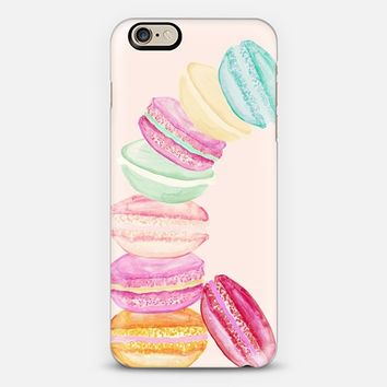 MACARONS PEACH by MONIKA STRIGEL iPhone 6 case by Monika Strigel | Casetify