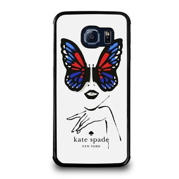 KATE SPADE BUTTERFLY Samsung Galaxy S6 Edge Case Cover