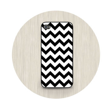 iPhone 5 case, iPhone 5C case, chevron iPhone case, black and white phone cases, iPhone 5S case, iPhone 4S case HT0011