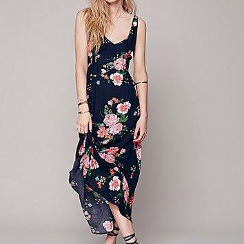 Summer Women's Fashion Sleeveless Slim Prom Dress One Piece Dress [5013305604]