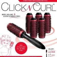 Click n Curl Round Styling Brush Tool, Full Set, Small