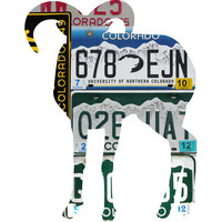 Colorado License Plate Big Horn Sheep