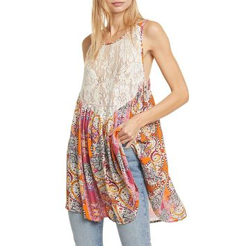 Women's Free People Count Me In Trapeze Dress