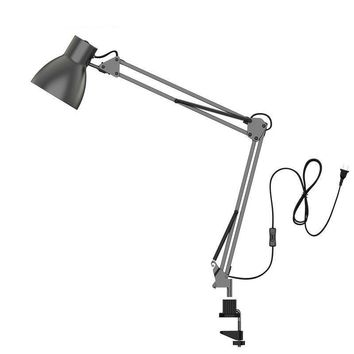 Long Swing Arm Desk Lamp Led Table Lamp Office Led Reading Light  Lamp