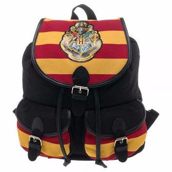 New Harry Potter Backpack Bag Hogwarts Knapsack Backpack 12 x 16in