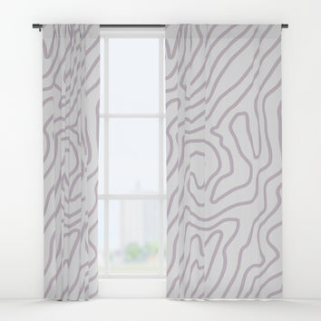 Abstract landscape Window Curtains by printapix