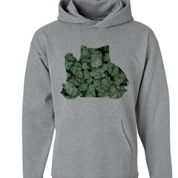WEED Snorlax Hoodie | Pokemon Hoodie | Marijuana Hoodie | Video Game Sweatshirts | Tumblr Marijuana Snorlax Pika Squirtle Weed sweaters