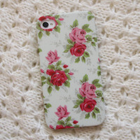 Floral Case-iPhone 4/4S