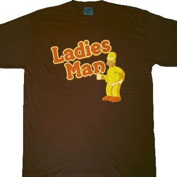 The Simpsons Homer Ladies Man T-shirt  - The Simpsons - | TV Store Online