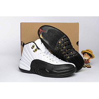 Air Jordan Retro 12 GG AJ12 Classic Color Basketball Shoes